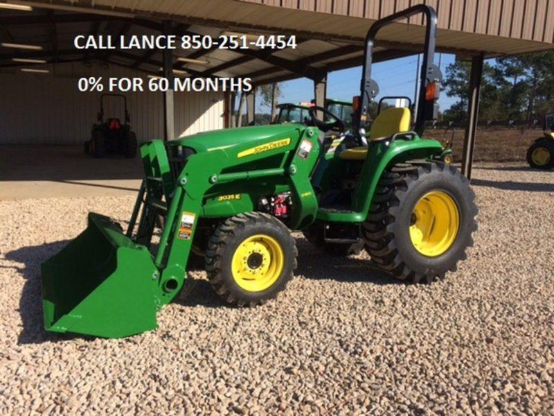 2016 John Deere 3025E Tractor #1LV3025EJGH100036 Ag-Pro of ...