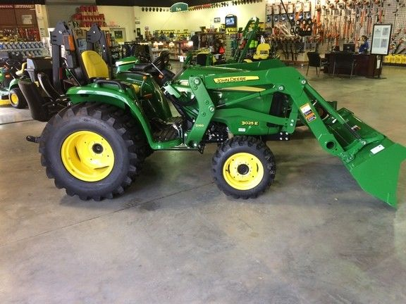 2017 John Deere 3025E Utility Tractors | eBay