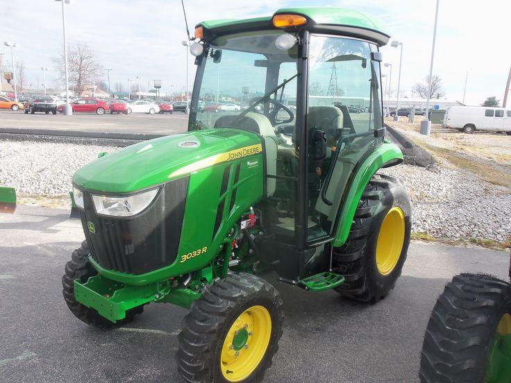 John Deere 3033R cab tractor   John Deere equipment ...