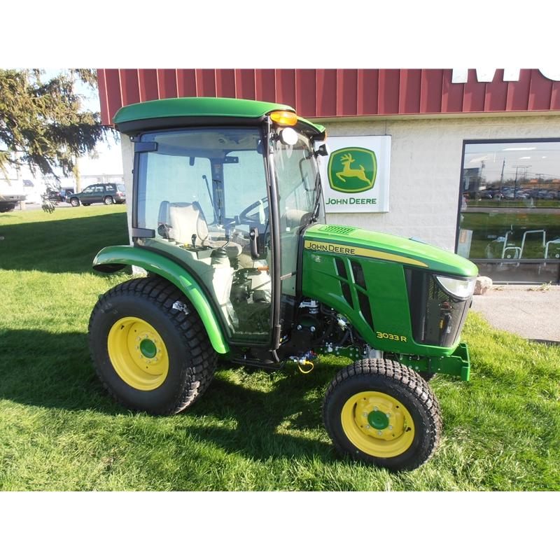 John Deere 3033R Cab Tractor