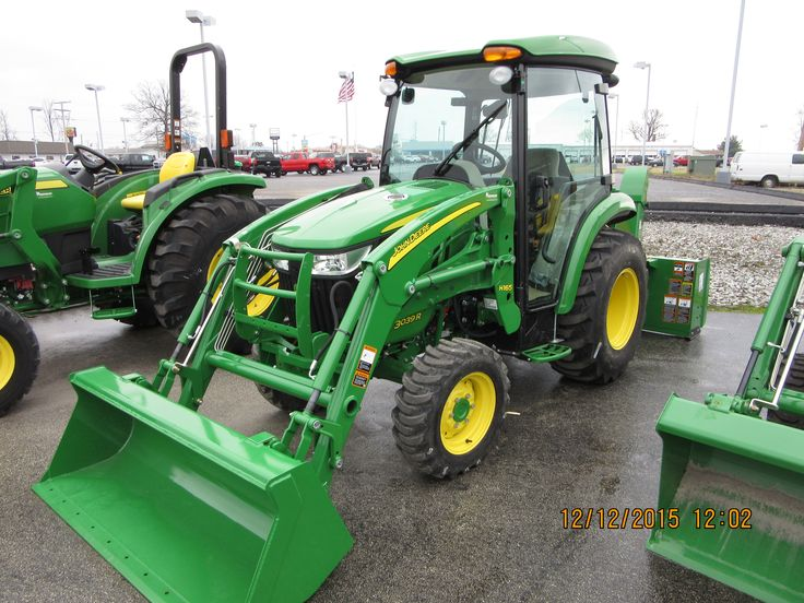 John Deere 3039R cab tractor & H165 loader | John Deere ...