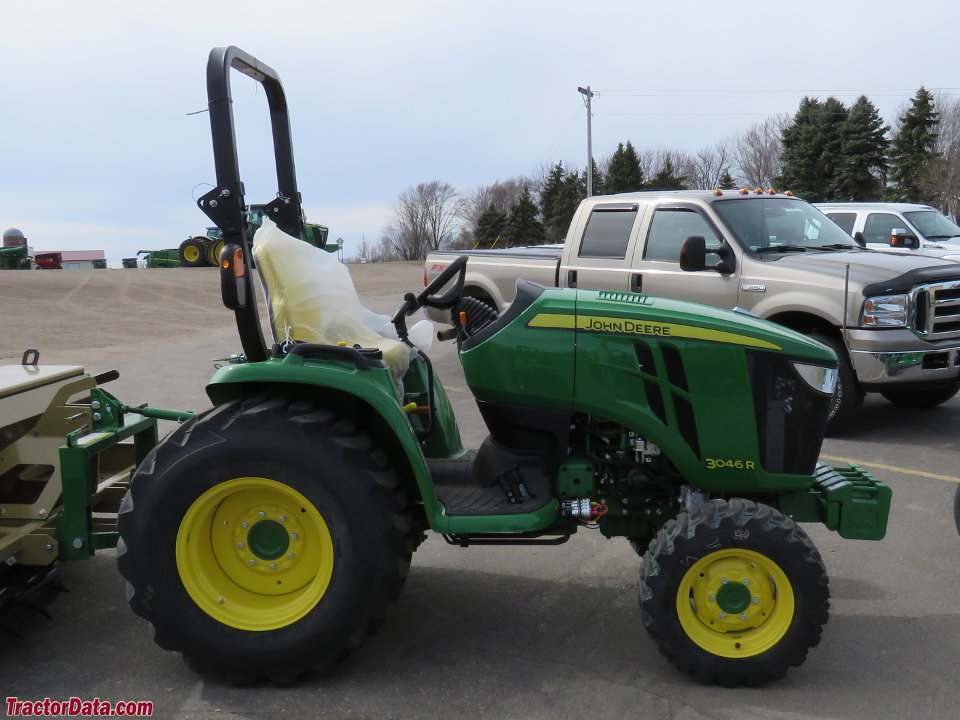 TractorData.com John Deere 3046R tractor photos information