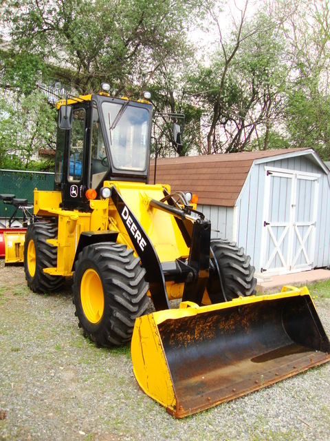 Wheel Loaders used for sale | John Deere 84 one yard ...