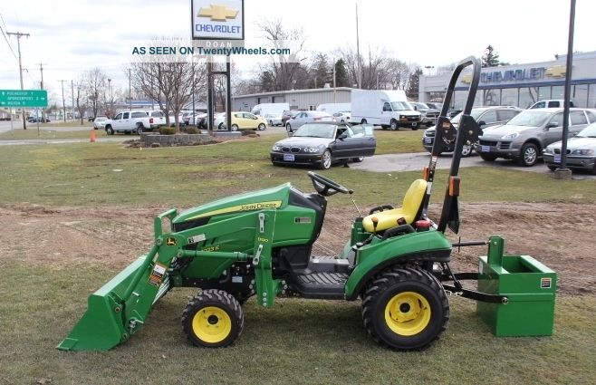 John Deere Diesel Tractor 1023e Comes With Front Loader ...