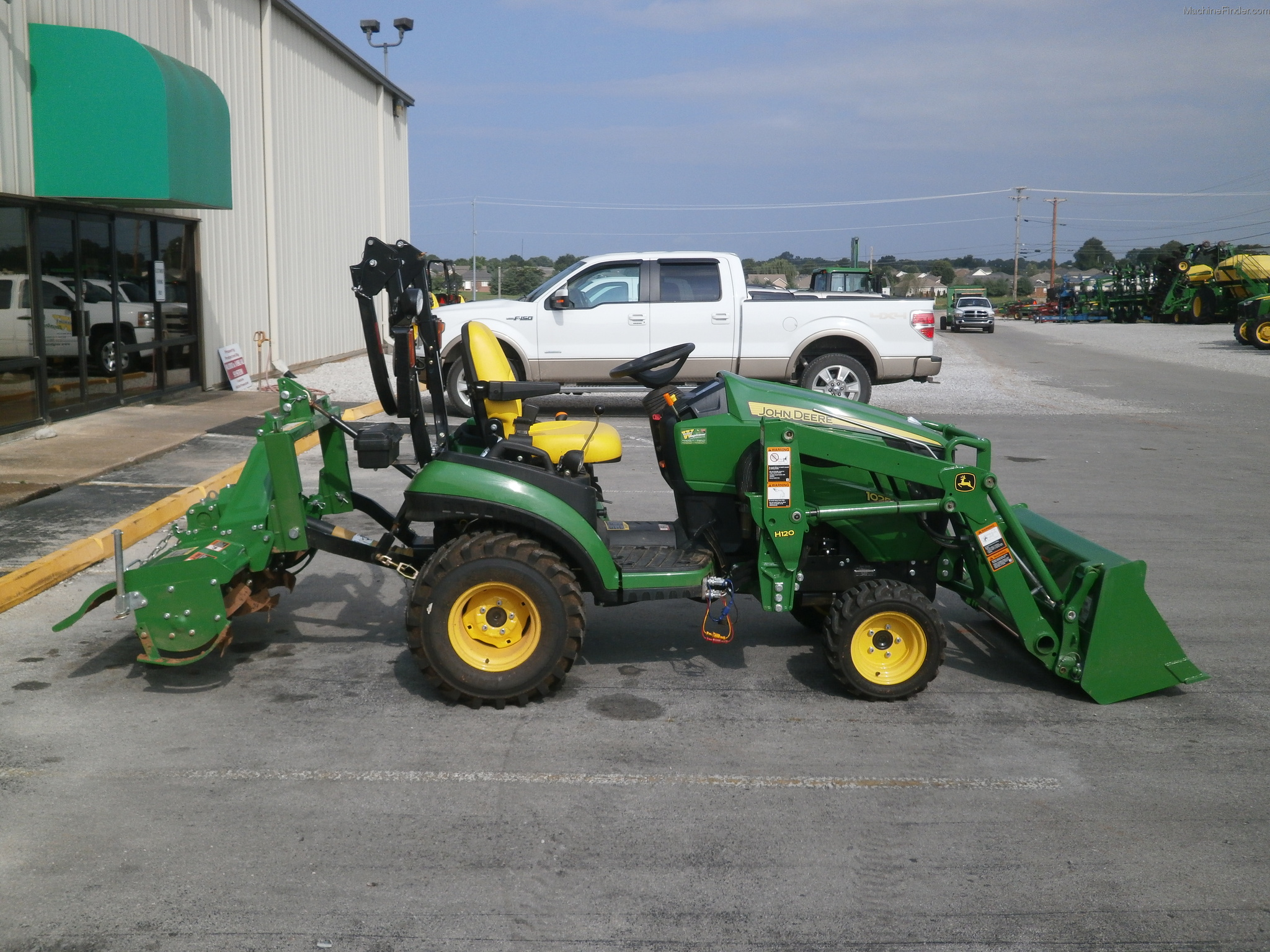 John Deere 1025R Attachments - Bing images