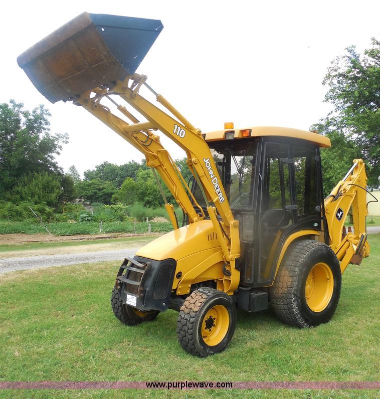 2005 John Deere 110 TLB tractor loader backhoe | no ...