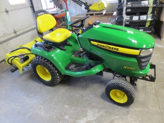 2007 John Deere X540 Lawn & Garden and Commercial Mowing ...