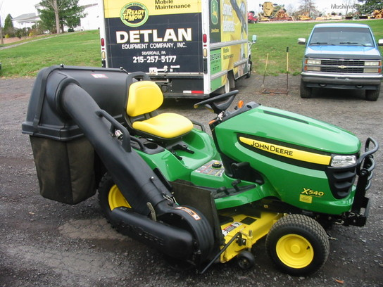 2010 John Deere X540 Lawn & Garden and Commercial Mowing ...
