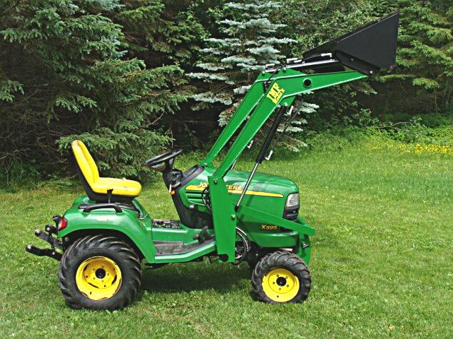 CTC X4750 Front End Loader,For John Deere X465-X ult.