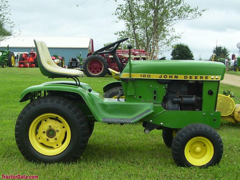 TractorData.com John Deere 120 tractor photos information