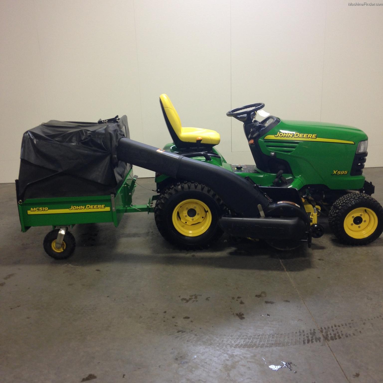 2004 John Deere X595 Lawn & Garden and Commercial Mowing ...