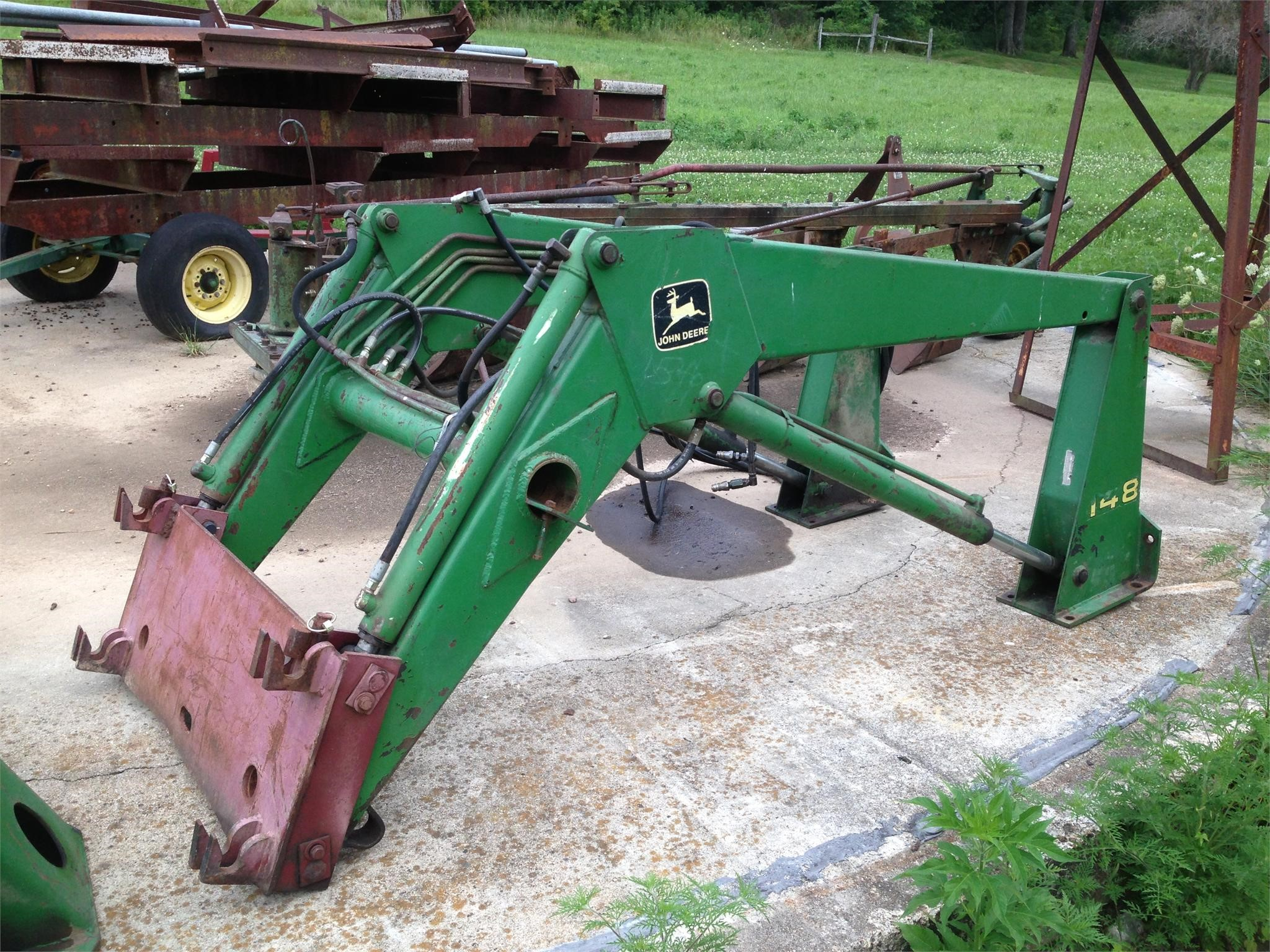 Wisconsin Ag Connection - John Deere Loaders for sale
