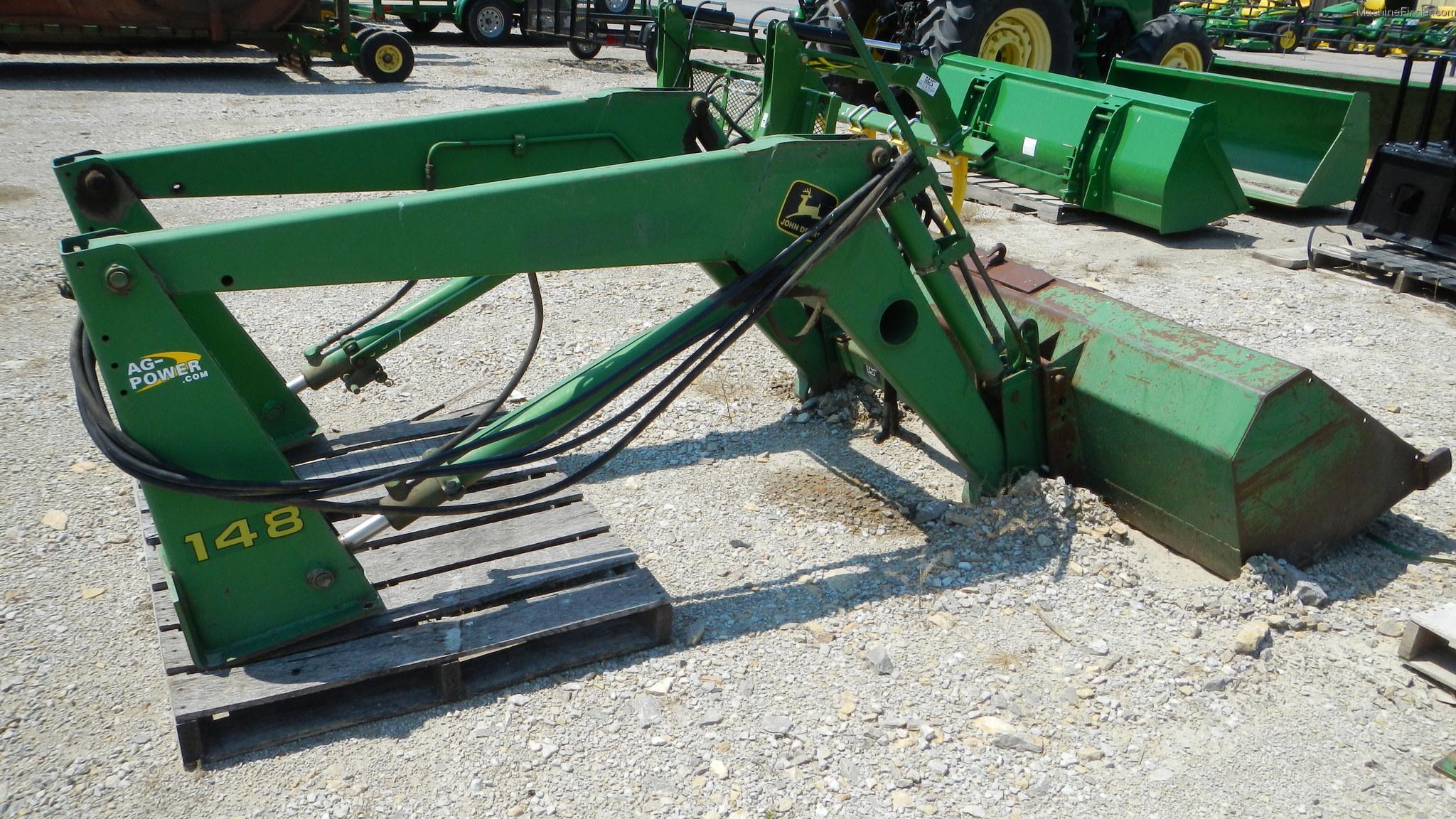 John Deere 148 Tractor Loaders - John Deere MachineFinder