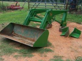 Cost to Ship - John Deere 148 Loader and Bucket - from ...