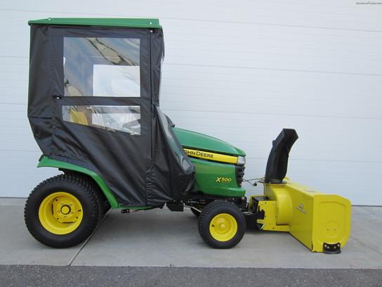 2008 John Deere X500 Lawn & Garden and Commercial Mowing ...