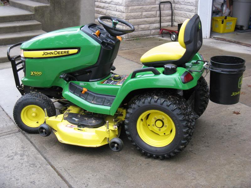 Took delivery of my new X500 - MyTractorForum.com - The ...