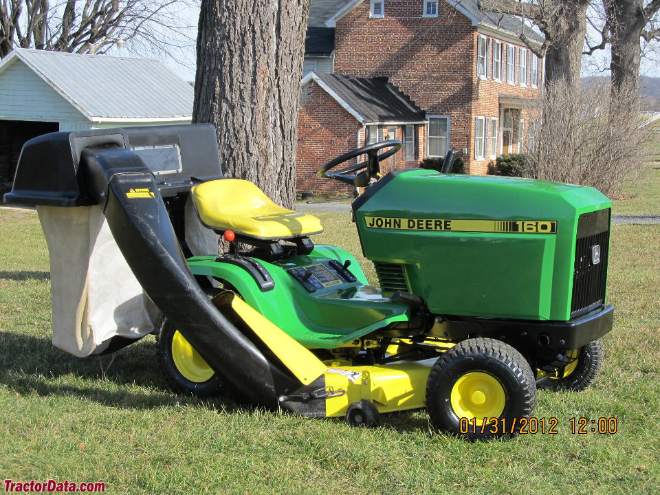 TractorData.com John Deere 160 tractor photos information