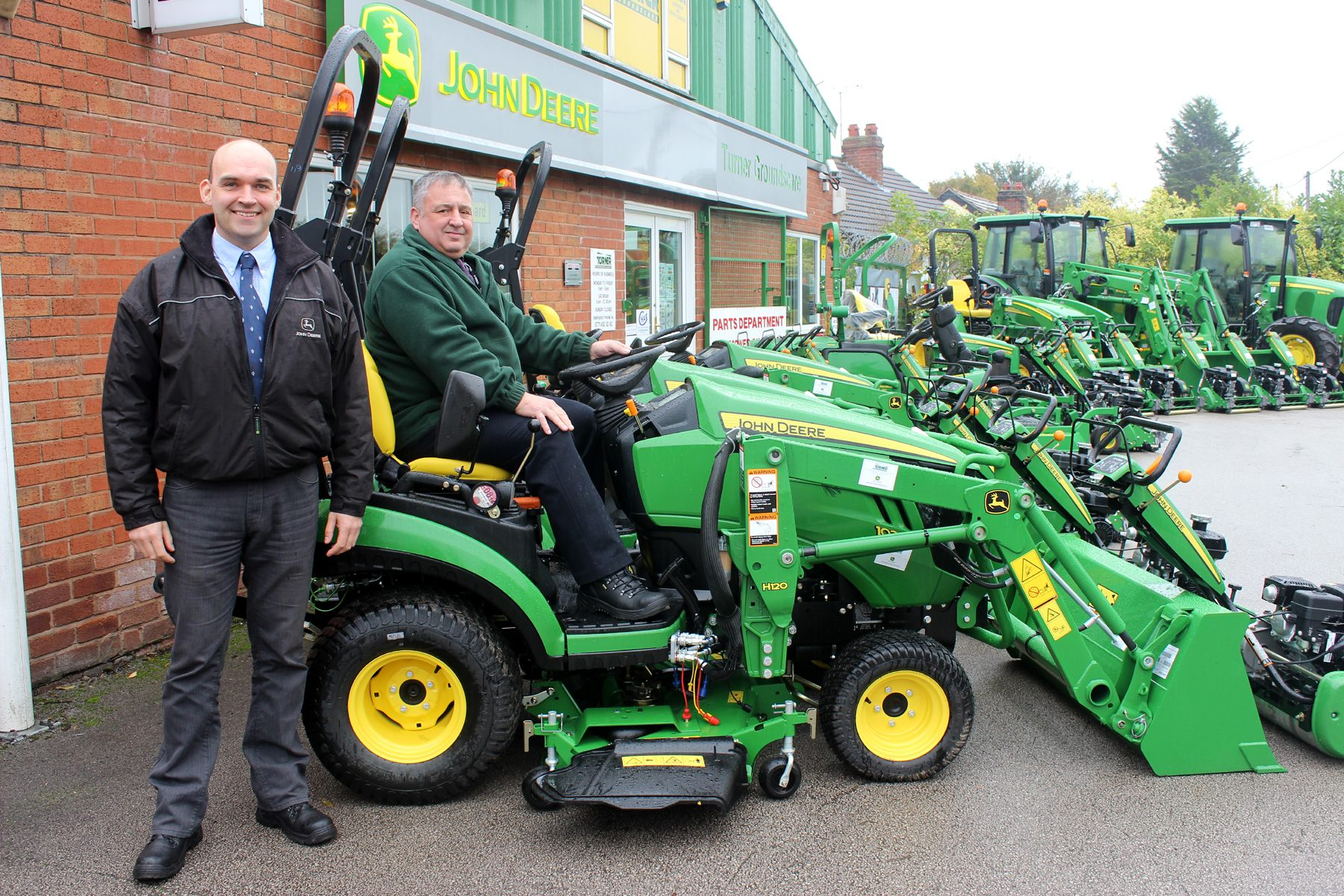 The Wirral way is with John Deere