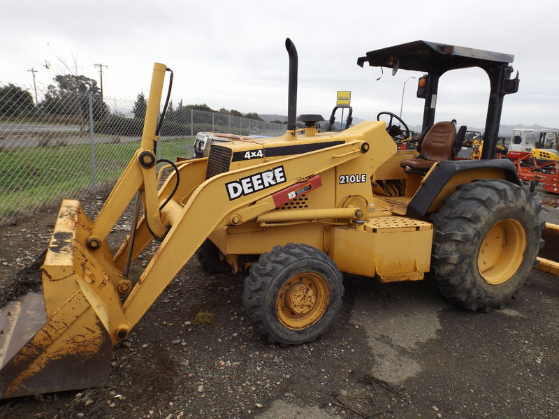 John Deere 210 Loaders for Sale | Fastline