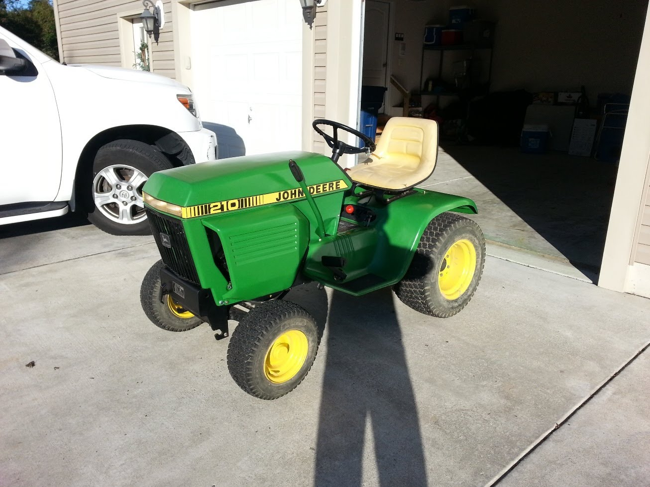 My 100th Video - The John Deere 210 Restoration is DONE ...