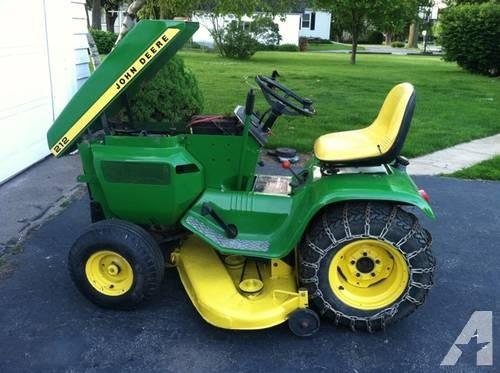 John Deere 212 w/ attachments for Sale in Orion, Illinois ...