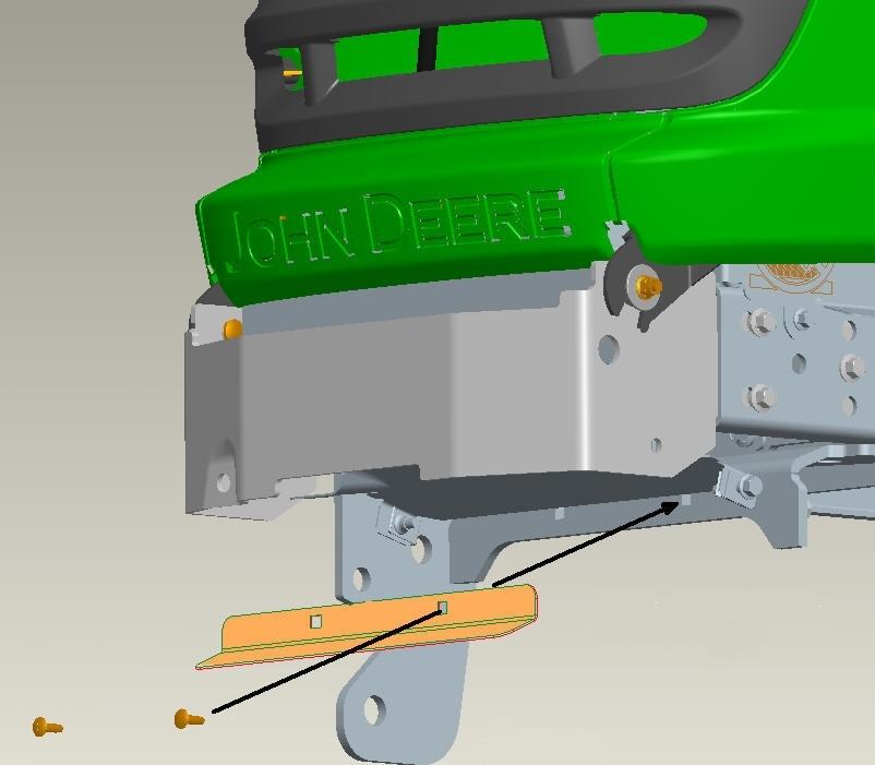 John Deere Bucket Holder | Car Interior Design