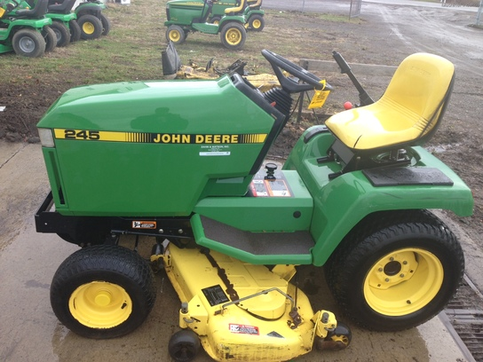 1993 John Deere 245 Lawn & Garden and Commercial Mowing ...
