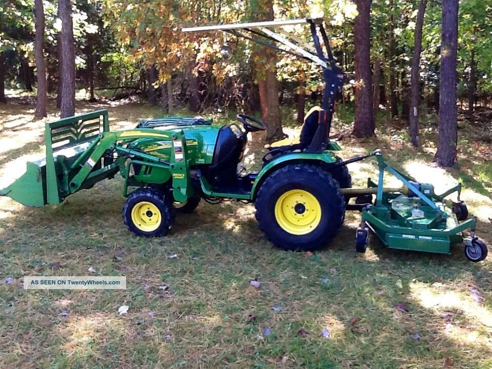 2008 John Deere 2520 4wd Tractor Loader /attachments