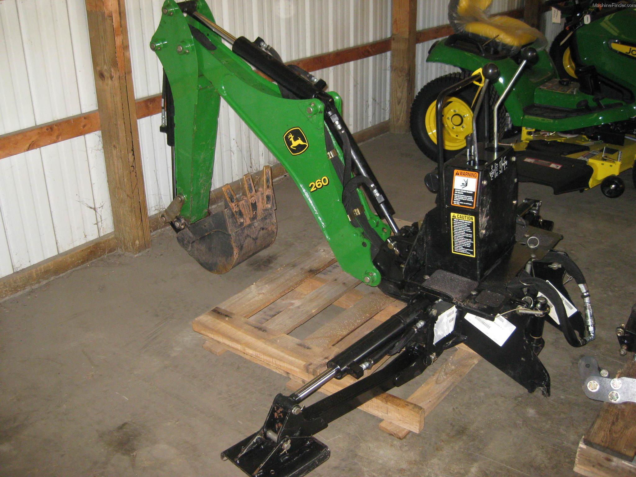 2008 John Deere 260 Attachments - John Deere MachineFinder
