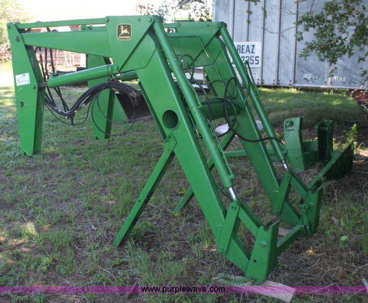 John Deere 260 loader   no-reserve auction on Friday, June ...