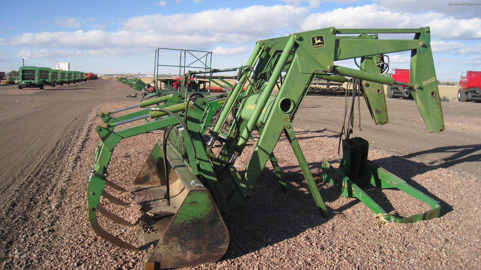John Deere 260 Tractor Loaders - John Deere MachineFinder
