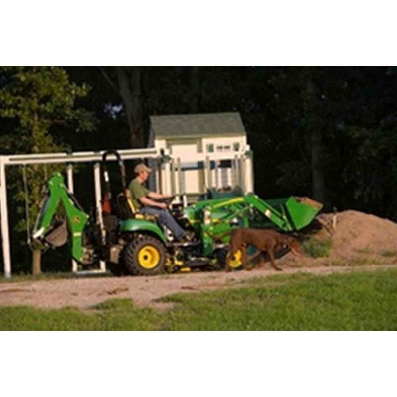 John Deere 260 Backhoe Attachment   Mutton Tractor Attachments