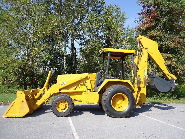 1992 JOHN DEERE 4X4 310D 310 D BACKHOE WITH 4 IN 1 BUCKET ...