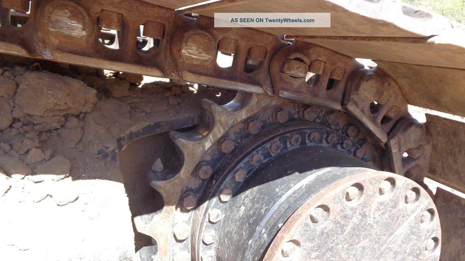 John Deere 450 Lc Excavator With 54 In Bucket