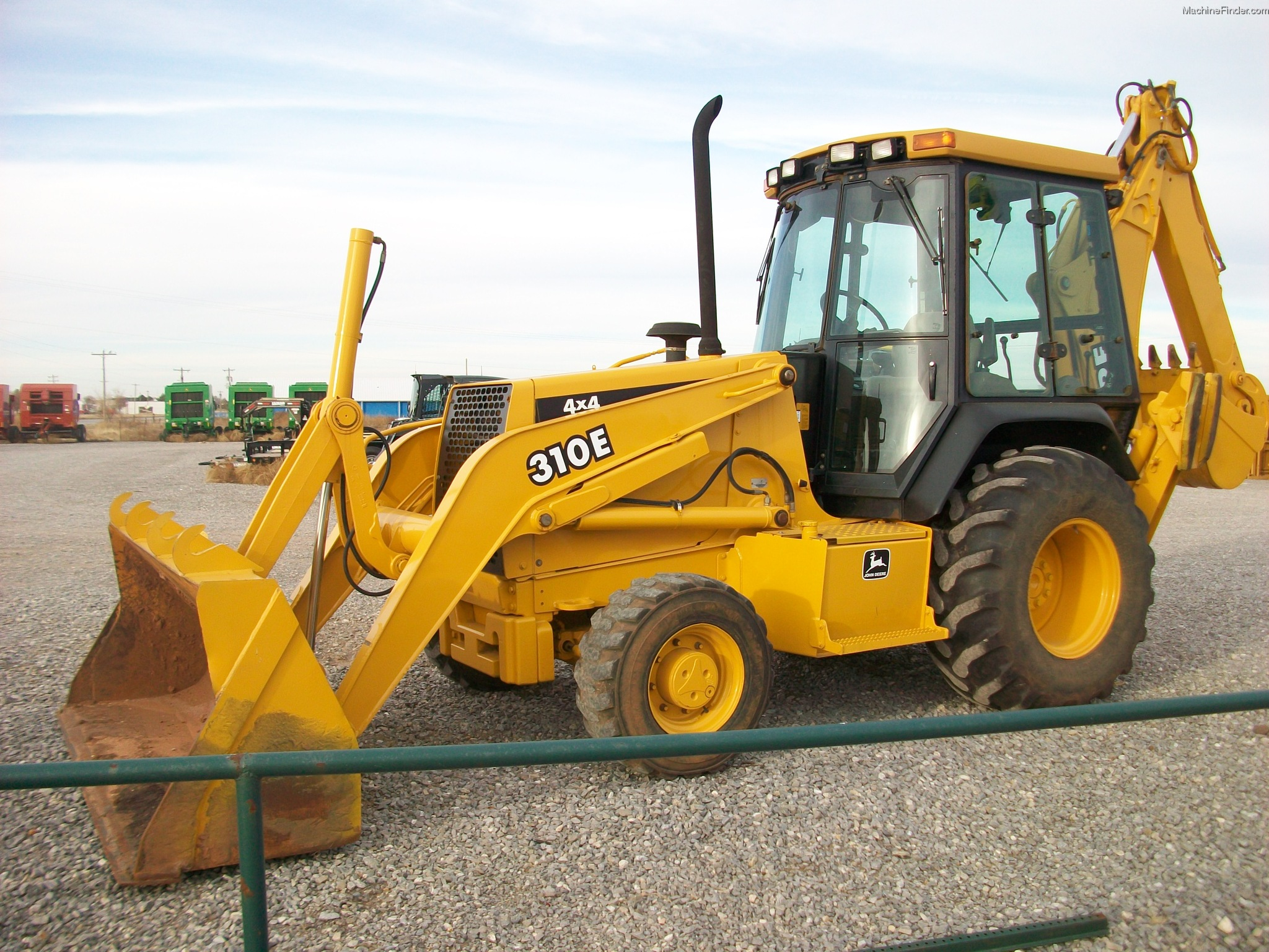 1999 John Deere 310E Backhoe Loaders - John Deere ...