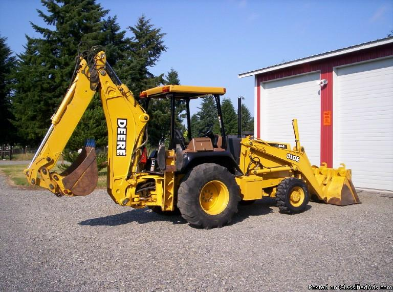 1998 John Deere 310E backhoe 701748 - best price ...
