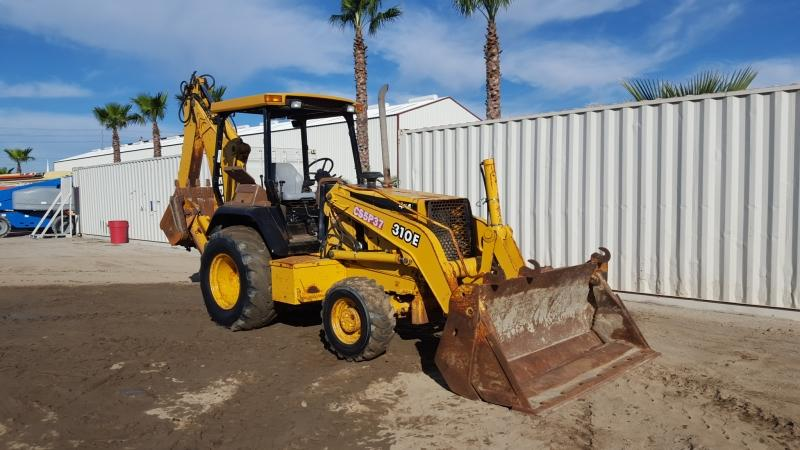 JOHN DEERE 310E LOADER BACKHOE, 4-in-1 bucket, 4x4, canopy ...
