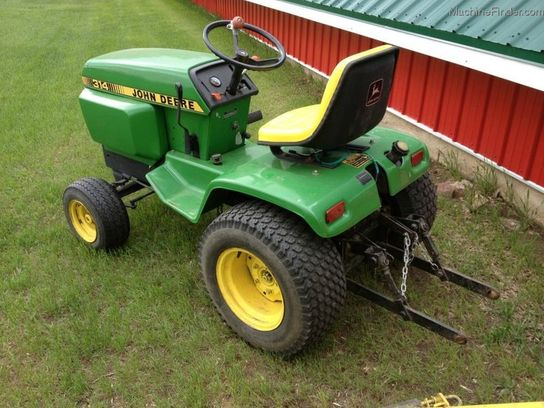 1981 John Deere 314 Lawn & Garden and Commercial Mowing ...