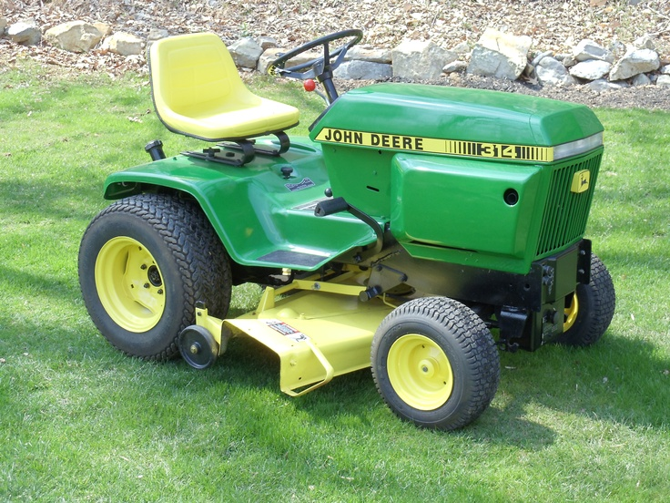 1979 John Deere 314 restored winter 2010 | Rollin Stuff ...