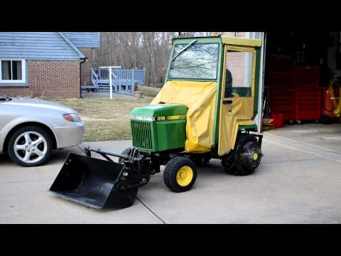 Homemade Johnny Bucket Dump Bucket John Deere 318 | How To ...