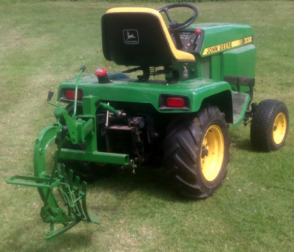 Topic: John Deere 332 and a plough   Vintage Horticultural ...
