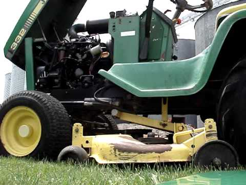 John Deere 332 With Buford Bucket Moving Dirt   How To ...