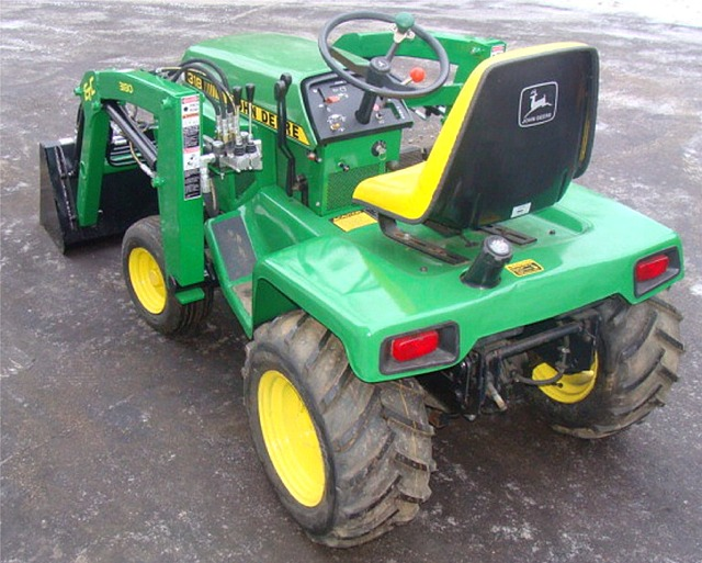 John Deere Garden tractor 318,322,332 Front End loader.   eBay