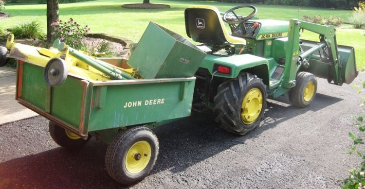 curran miller auction/realty to auction JOHN DEERE 332 ...