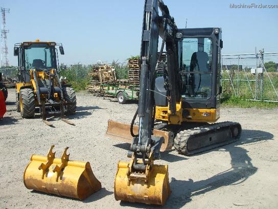 2011 John Deere 35D Compact Excavator - John Deere ...
