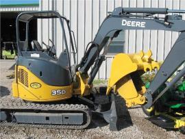 Cost to Ship - John Deere 35D Excavator with Extra Bucket ...