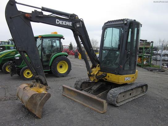 2005 John Deere 35D Construction Equipment & Forklifts ...