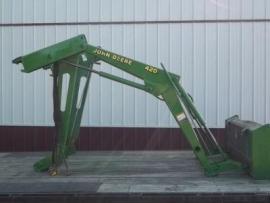 Equipment Shipping John Deere 420 Loader w/60