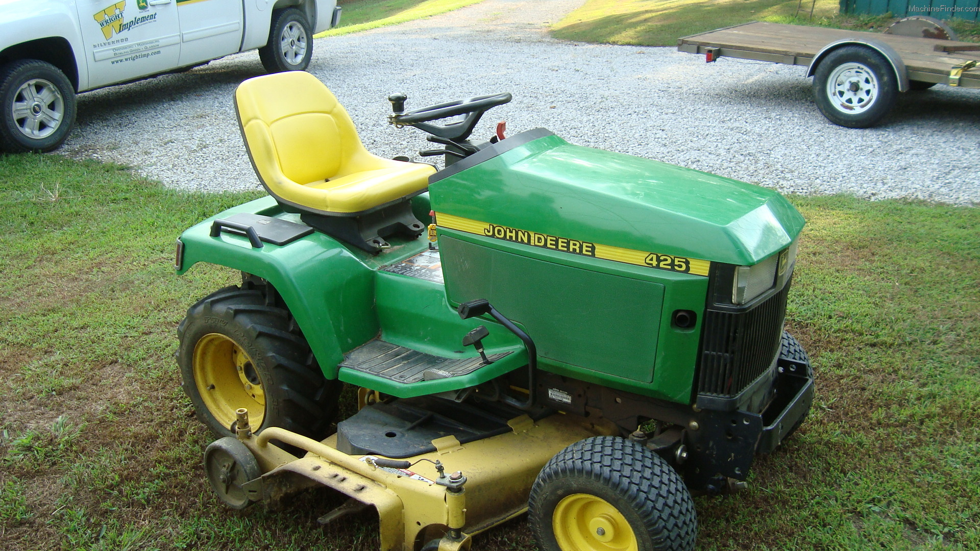 2001 John Deere 425 Lawn & Garden and Commercial Mowing ...