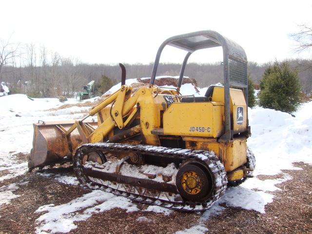 450C John Deere Track Loader 1.5 Yard Bucket w Teeth   eBay